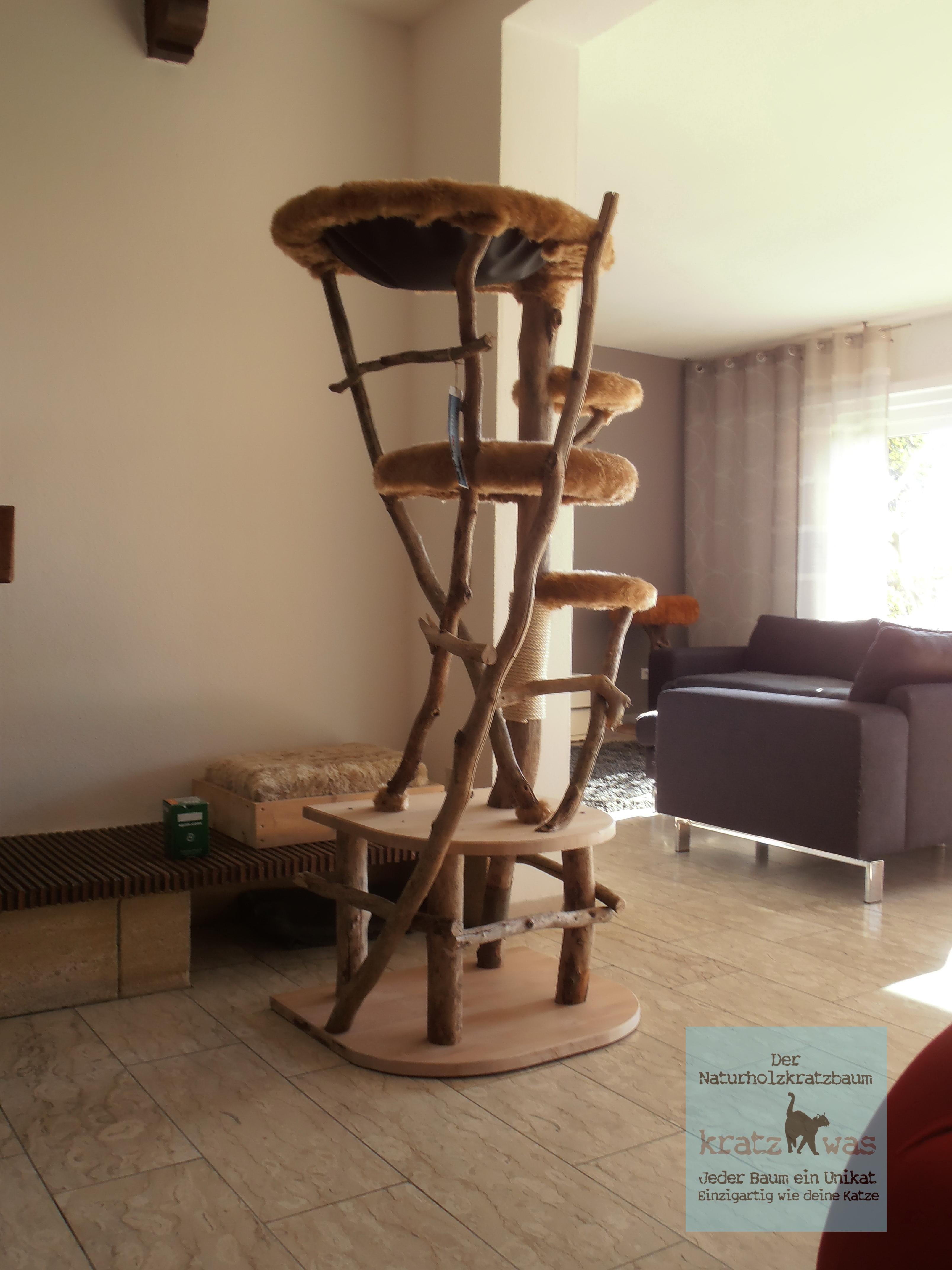 werkstatt news modifizierung von fertigen b umen kratzwas naturholzkratzb ume. Black Bedroom Furniture Sets. Home Design Ideas